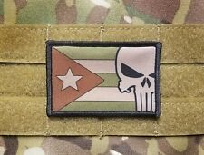 PUERTO RICO Rican Flag Multicam Military Morale Tactical Hook Patch Army Boriqua