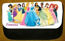 Girls Personalised Princess Pencil Case -Include Name - Fab For School