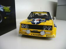 1:18 Kyosho Fiat 131 Abarth Alen Rallye San Remo 1980 NEU NEW