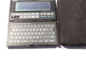 Vintage CASIO SF 7500 Electronic Digital Diary 64k