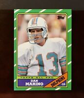 1986 Topps Football #45 Dan Marino NM+