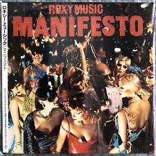 ROXY MUSIC - Manifesto JAPAN MINI-LP CD TOCP-65828 with Obi (2001 Remaster, EMI)