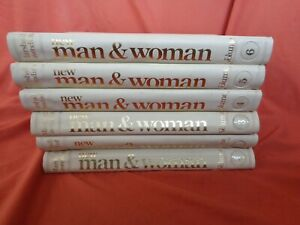 New Man & Woman Marshall Cavendish 78 Magazines In 6 Binders ID8566