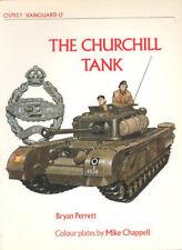 OSPREY VANGUARD 13 BRITISH CHURCHILL INFANTRY TANK 1941-1951 WW2 KOREAN WAR RTR