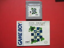 Pipe Dream with Manual Game Boy *Cleaned & Tested*