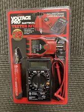 Voltage Pro Digital Lcd Multimeter Ac Dc Voltage Tester Auto Range
