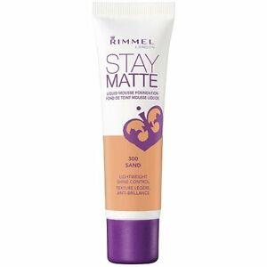 Rimmel Stay Matte Liquid Mousse Foundation - 300 Sand by Rimmel