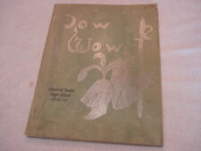 "1958-1959 Stanford Junior High School Yearbook ""Pow Wow"""