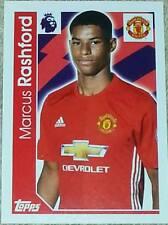 198 Marcus Rashford MANCHESTER UTD 2016/2017 Topps Merlin Premier League sticker