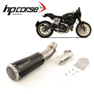 DUCATI SCRAMBLER 2015 2016 Exhaust HP CORSE Black GP07 Net