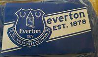 Everton Official Large Club Crest Flag - Jumbo 6x5ft 'Everton Est 1878'