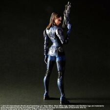 Mass Effect 3 figurine articulée Ashley Williams Play Arts Kai Figure accessoire