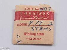 Longines Genuine Material Stem Part 405 for Longines Cal. 978.2