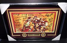 Washington Redksins 70 Greatest Signed Autographed Framed Photo