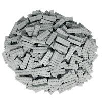 50 Graue Lego Steine 2x6 - Bausteine (Classic, Star Wars, City usw.)