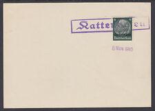 Lorraine Sc N46 used on 1940 Hattenhofen Postal Card, Vf