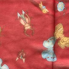 """100%SilkCrepeSqure Scarf(20""""x20"""")Red, Butterfly,High Quality,ShipFromUS"""