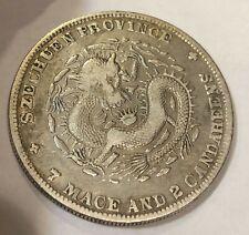 CHINA. Szechuan. 7 Mace 2 Candareens (Dollar), ND (1901-08) Silver Coin