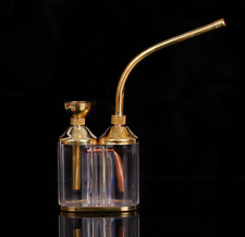 small Mini Narguile portable Hookah brass water pipe Smoking filter gift smoke