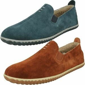Clarks Mens Warm Lined Full Slippers - Home Cheer