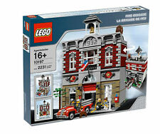 NEW SEALED LEGO 10197 FIRE BRIGADE MODULAR BUILDING
