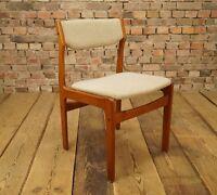 Mid Century Teak Stuhl / Danish Modern Design / Denmark vintage 60s Polsterstuhl