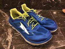 Mens Altra Size 10/45 Blue Running Walking Shoes. EUC