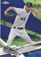 CHRIS SALE 2017 TOPPS CHROME SAPPHIRE EDITION #9 ONLY 250 MADE