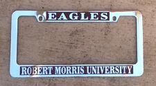 Eagles Robert Morris University license plate frame chrome NEW