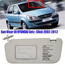 852101C200QS Sun Visor Inside Driver Left LH Gray Hyundai GETZ CLICK 2002-2012