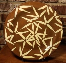"""Julie Euland Feels Like Home BAMBOO 13"""" Chop plate / Round platter, Excellent"""