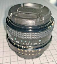 Tokina SL 28mm f2.8 wideangle lens for Nikon AI mount, 1980s