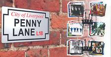 2007 sellos de los Beatles () - Steven Scott Penny Lane Alt oficial - 30 producido!!!