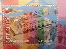 Polish stamp, Polska, mint, sheet, 2016, Wroclaw, Pietrzak