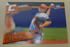 2014 BRIAN GRENING Aussie Baseball-Canberra Cavalry-Southern Maryland Blue Crabs