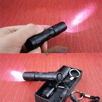 Pen LED Flashlight Torch Bright Light Waterproof Outdoor Camping Tent Aluminum