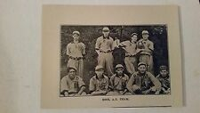 Gool A.C. Chicago & General Office Illinois Steel 1911 Baseball Team Picture SP