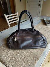 RARE!!! Jas M.B. London Buttery Soft Brown Leather Handbag Gorgeous!!