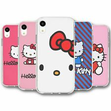 For iPhone XR Silicone Case Cover Hello Kitty Collection 2