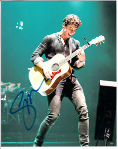 """Shawn Mendes Canadian singer songwriter young star autograph 8x10"""" Signed Photo"""