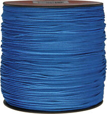 Parachute Cord Micro Cord Blue 1.18mm x 1,000 ft. Braided premium nylon sport an