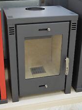 Wood Burnig Stove Solid Fuel Top Flue Fireplace Log Burner 9-12 kW DIN Plus