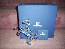 Swarovski crystal horse figurine