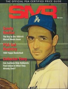 PSA SMR The Official PSA Certified Price Guide May 2019 - Sandy Koufax Cover