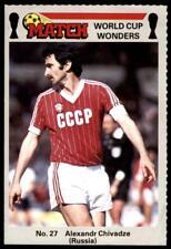 Match World Cup Wonders 1986 - Alexandr Chivadze (Russia) No. 27