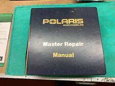 Vintage 1972-91 Polaris Snowmobile Dealer Master Repair Manual