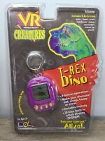 Vintage 1997 MGA VR Virtual Reality Creatures Pet T-Rex Dino Dinosaur - NEW NOS