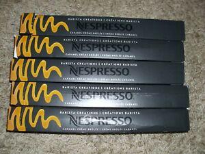 Nespresso Capsules CARMEL CREME BRULEE - 50 Count