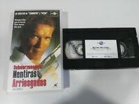 TRUE LIES ARNOLD SCHWARZENEGGER JAMES CAMERON VHS EDITION ESPAGNOLE