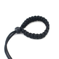 Black Digital Camera Hand Woven Wrist Band Paracord Camera Accessories CB